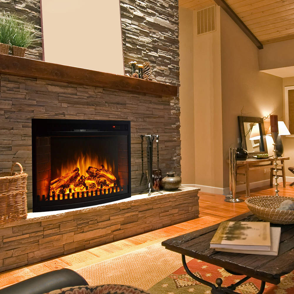 in lexington flame p ventless crystal fireplace inch mounted wall regal built electric heater recessed