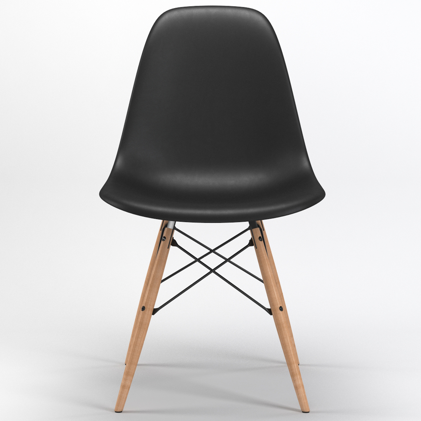 Wooden chair front view - Wooden Chair Front View 10