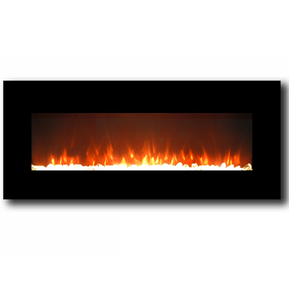 Black wall mounted electric fireplace - Black Wall Mounted Electric Fireplace 34