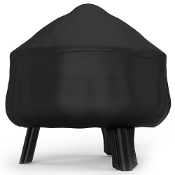26 Inch Mason Water Resistant Firepit Black Cover