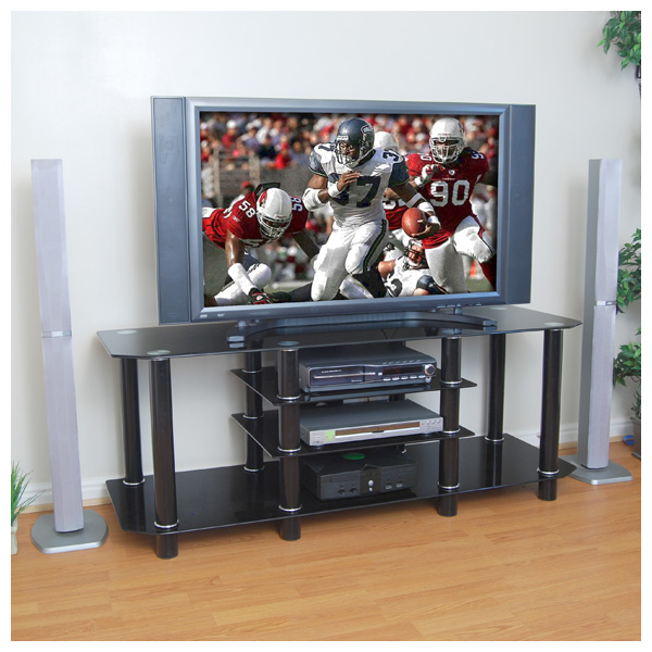 Alphaline Glass And Metal Tv Stand Instructions Home Discount Glass