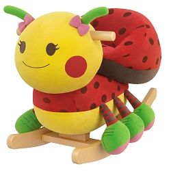 Sofia Ladybug Kids' Rocker with Music