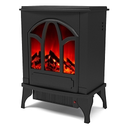 Juno Electric Fireplace Free Standing Portable Space Heater Stove