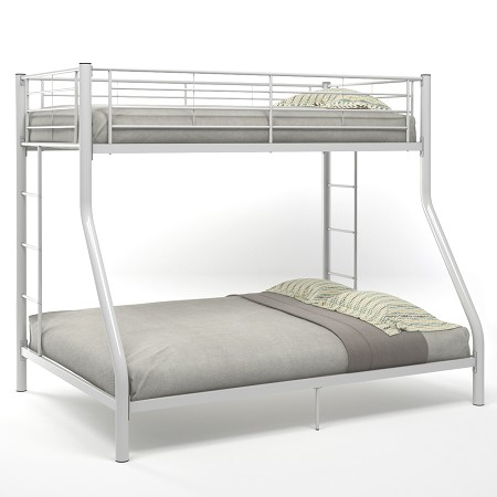 Cynthia Twin Over Full Bunk Bed in White